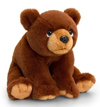 "Keel Toys: Grizzly Bear - 8"" Teddy Bear"