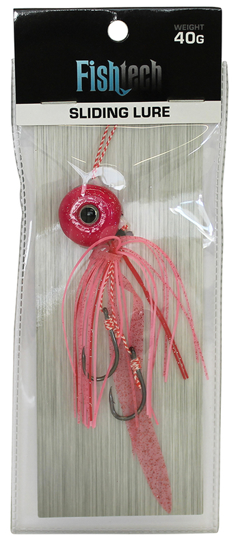 Fishtech 40g Slippery Slider Lure - Pink