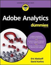 Adobe Analytics For Dummies by David Karlins image