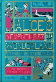 Alice's Adventures in Wonderland (Illustrated with Interactive Elements) by Lewis Carroll