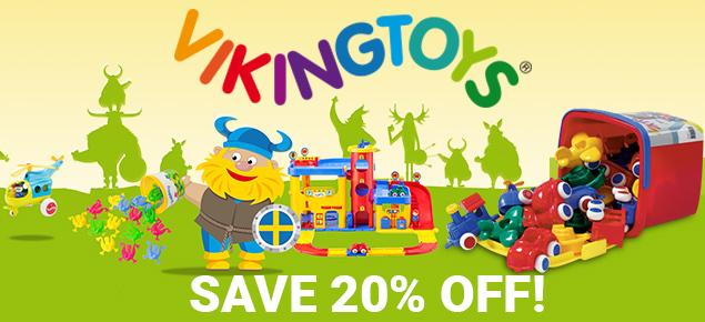 20% off Viking Toys!