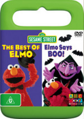 Sesame Street - The Best Of Elmo / Elmo Says Boo! on DVD