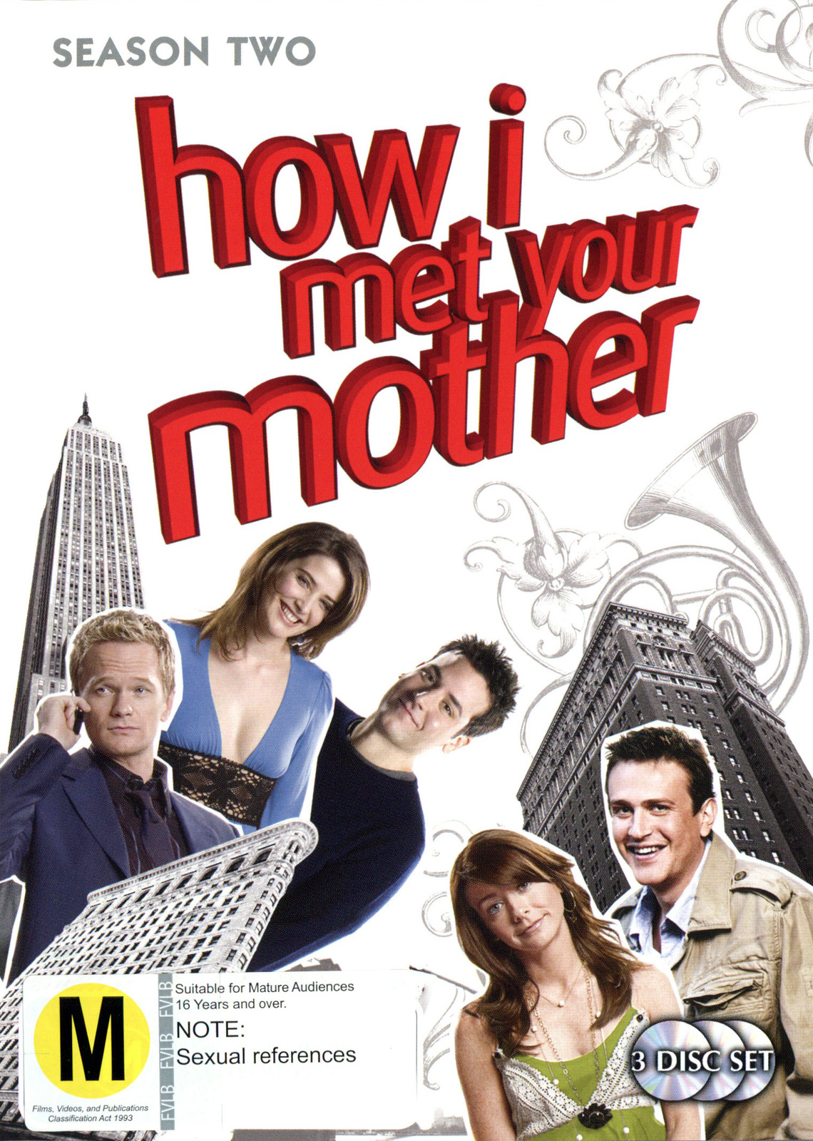 How I Met Your Mother - Season 2 (3 Disc Set) on DVD image