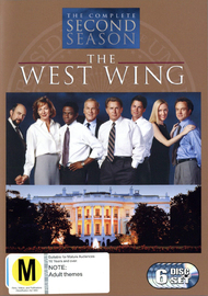 The West Wing - Complete Second Season (6 Disc Box Set) on DVD