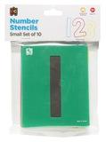 EC Colours - Number Stencil Set - Pack of 10