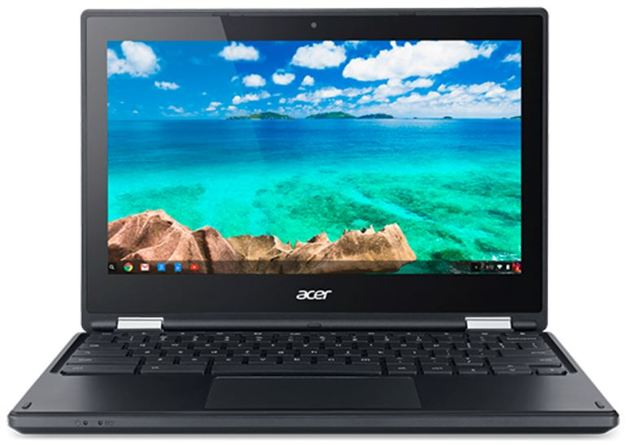 "Acer C738T Flip Chromebook 11.6"" Touchscreen Intel Celeron N3150 4GB"
