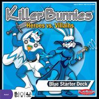 Killer Bunnies: Heroes vs. Villains - Blue Starter Deck
