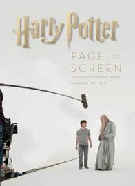 Harry Potter: Page to Screen: Updated Edition by Bob McCabe