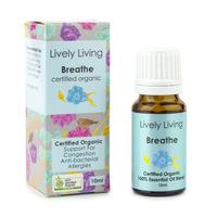 Organic Essential Oil Blend - Breathe (10ml)