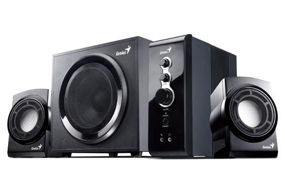 Genius 2.1channel Speakers (Black) image