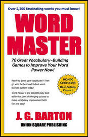Word Master by J.G /Cardoza Barton image