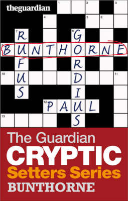 """The """"Guardian"""" Cryptic Crosswords Setters Series"""