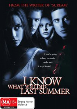 I Know What You Did Last Summer on DVD image