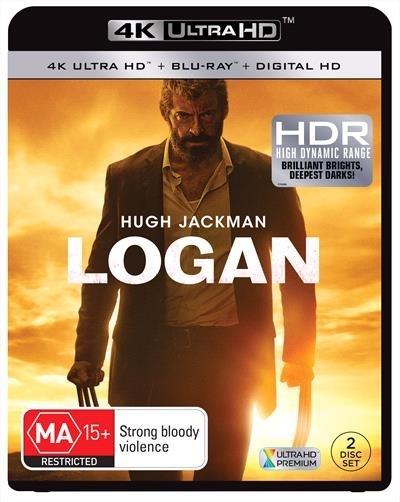 Logan on Blu-ray, UHD Blu-ray