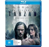 The Legend of Tarzan on Blu-ray