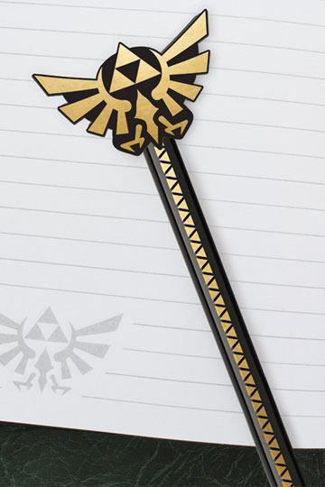 Legend of Zelda: Pencil with Topper - Hyrule Wingcrest image