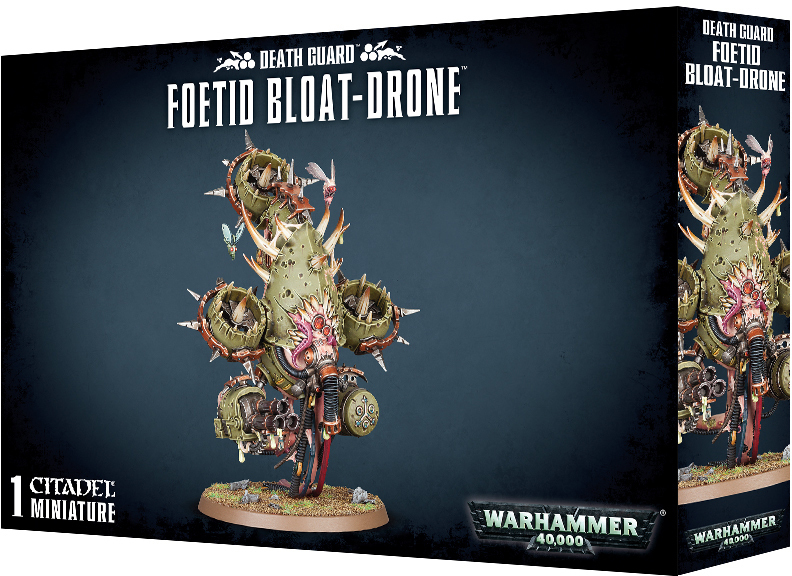 Warhammer 40,000: Death Guard - Foetid Bloat-drone image
