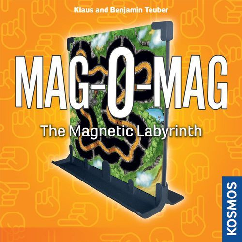 Mag-O-Mag - The Magnetic Labyrinth Game