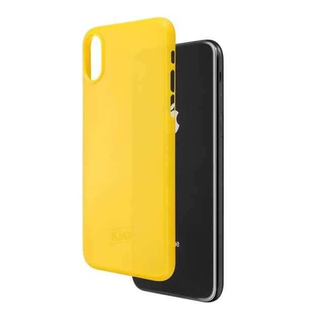 Kase Go Original iPhone X Slim Case -Yellow Submarine
