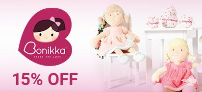 15% off Bonikka Doll