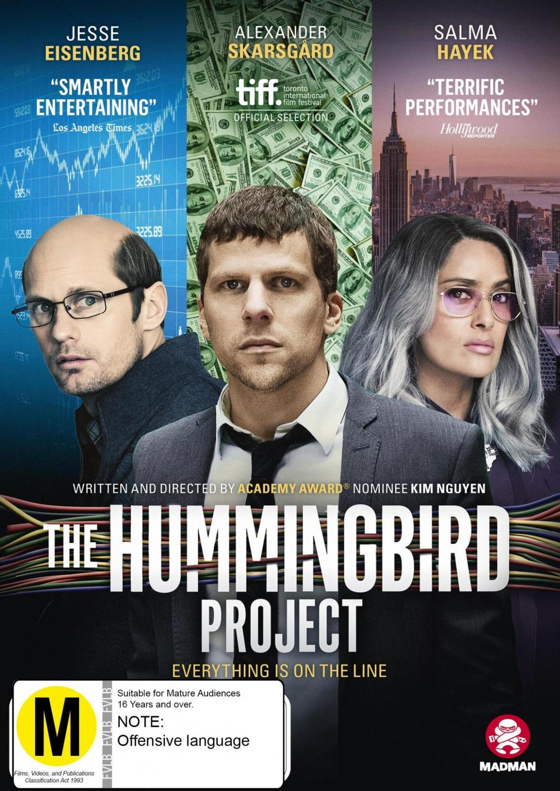 The Hummingbird Project on DVD image