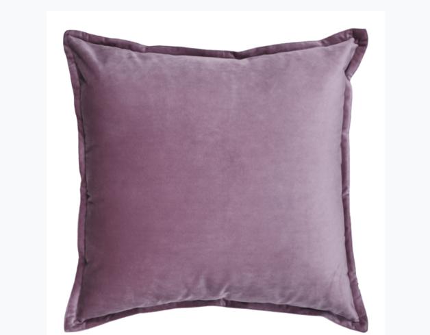 Madras Link: Mira Velvet Lilac Cushion