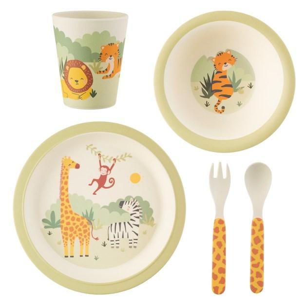 Sass & Belle: Savannah Safari Bamboo Tableware Set