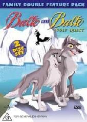 Balto & Balto Wolf Quest (2 Disc) on DVD