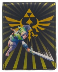 Legend of Zelda: Link Triforce Burst Bi-Fold Wallet