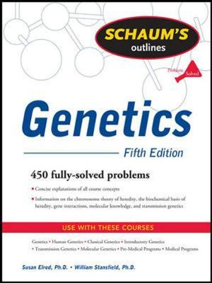 Schaum's Outline of Genetics, Fifth Edition by William Stansfield image