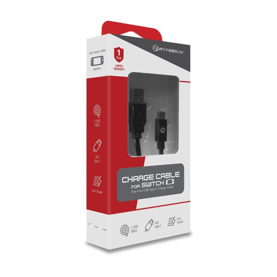 Hyperkin Charge Cable for Switch for Nintendo Switch image