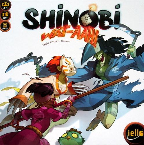 Shinobi Wat-aah - Board Game