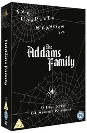 The Addams Family: The Complete Seasons 1-3 on DVD