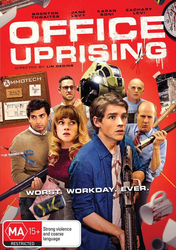 Office Uprising on DVD