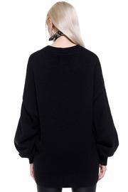 Killstar: Selena Knit Sweater - Black (S)