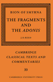 Cambridge Classical Texts and Commentaries: Series Number 33 by . Bion