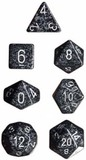 Chessex Speckled Polyhedral Dice Set - Ninja
