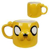 Adventure Time Jake Face Molded Mug