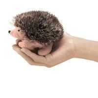Folkmanis Mini Finger Puppet - Hedgehog