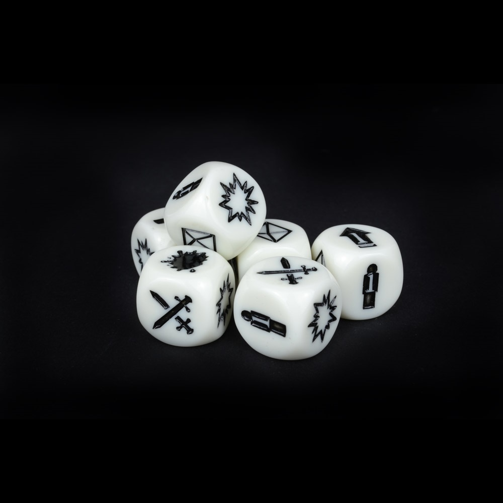 Deadzone Second Edition Command Dice image