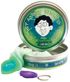 Crazy Aarons Thinking Putty: Photo Retentive - Foxfire (Light Green)