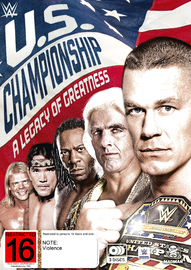 WWE: The Us Championship: A Legacy Of Greatness on DVD