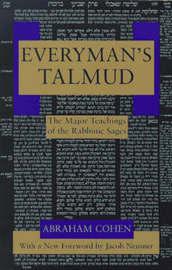 Everyman's Talmud by Abraham Cohen