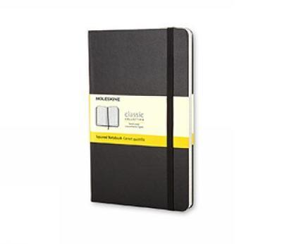 Moleskine Squared Notebook (Large, Hard, Black)
