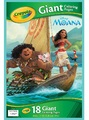Crayola: Color Giant Coloring Pages - Disney Moana