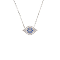 Short Story: Necklace Third Eye Silver