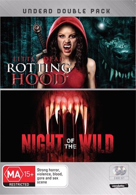Undead Double Pack: Little Dead Rotting Hood / Night of the Wild on DVD