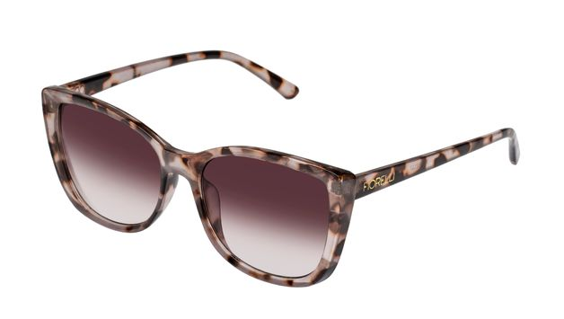 Fiorelli: Etta Sunglasses - Rose Tortoise + Warm Smoke Lens