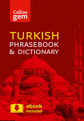 Collins Turkish Phrasebook and Dictionary Gem Edition by Collins Dictionaries image