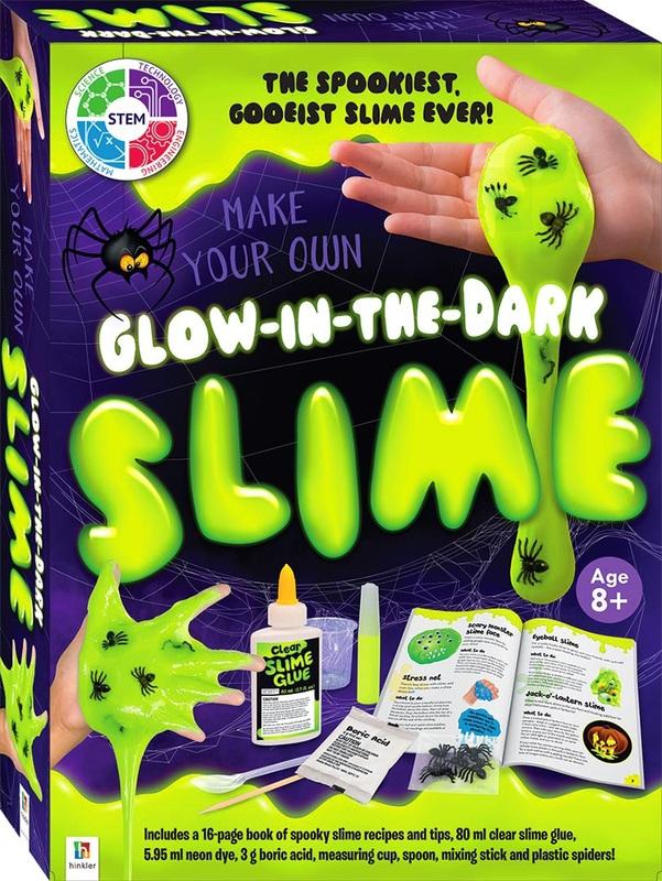 Hinkler: Make Your Own - Glow-in-the-Dark Slime Kit